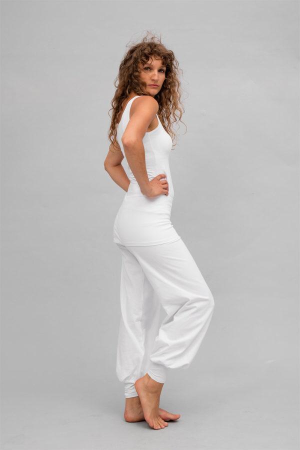 White yoga pants sohang breath of fire